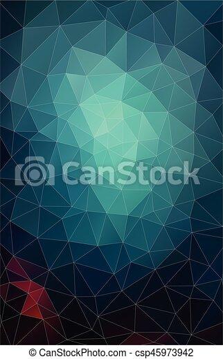 Vertical Flat Pastel Color Geometric Triangle Wallpaper