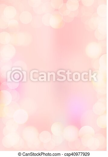 Vertical gradient pink texture background bokeh border - csp40977929