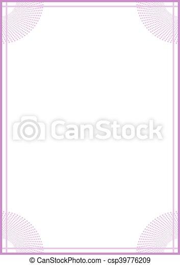 Creative design of vertical nice frame.