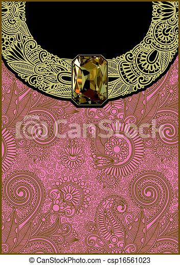 verticale, gioiello, lusso, fondo - csp16561023