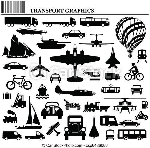 vervoer, manieren - csp6436088