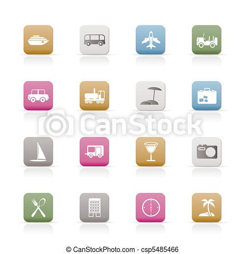 vervoer, reizen, toerisme - csp5485466