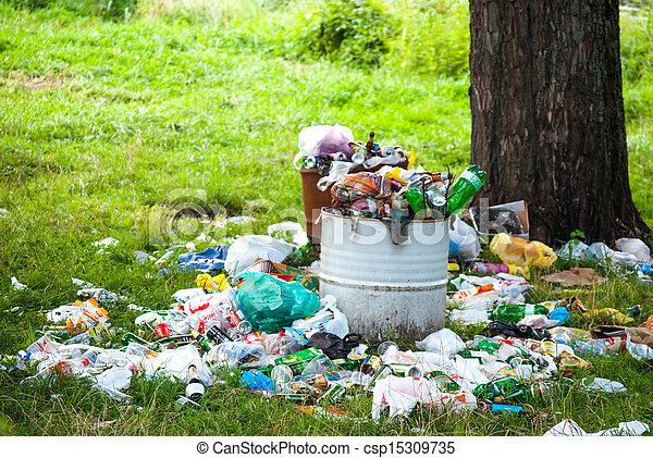 vervuiling, natuur - csp15309735