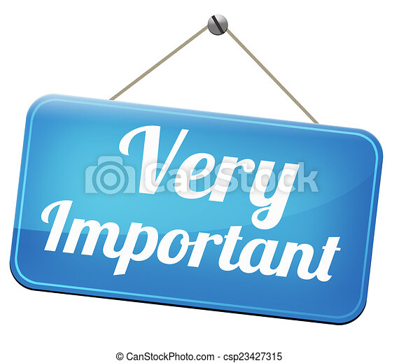 very important important information very crucial message rh canstockphoto com important clip art important dates clip art