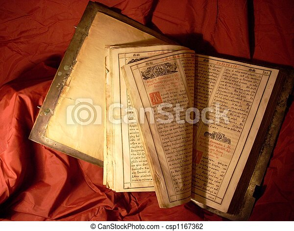 very old Bible - csp1167362