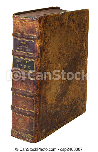 Very old book - csp2400007