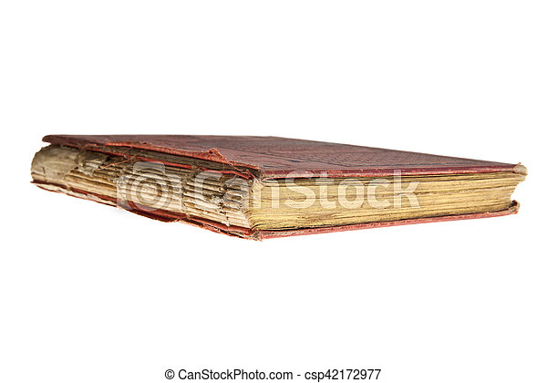 very old book - csp42172977