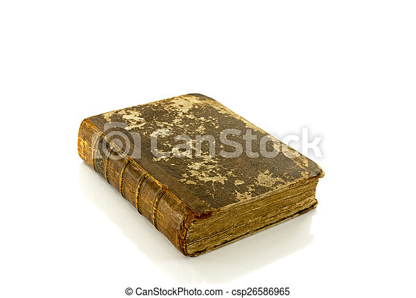 very old book - csp26586965