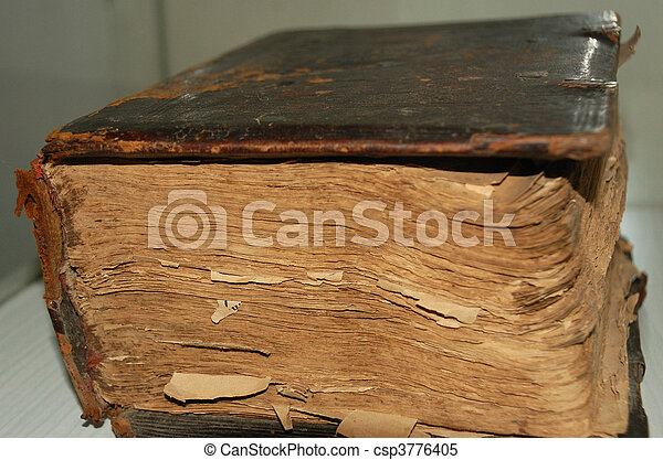 Very old book - csp3776405