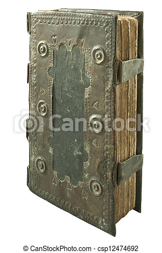 very old book - csp12474692