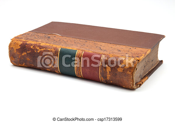 very old book - csp17313599