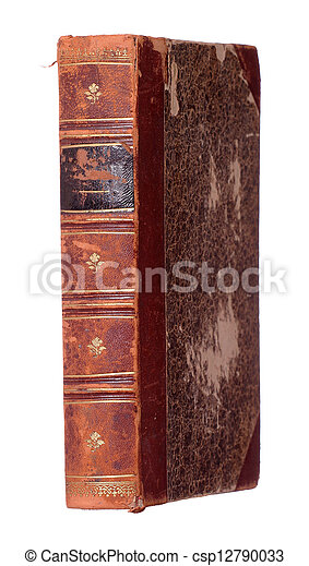 very old book - csp12790033