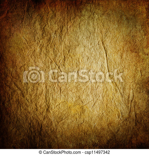 Very Old Paper background. Vintage surface - csp11497342