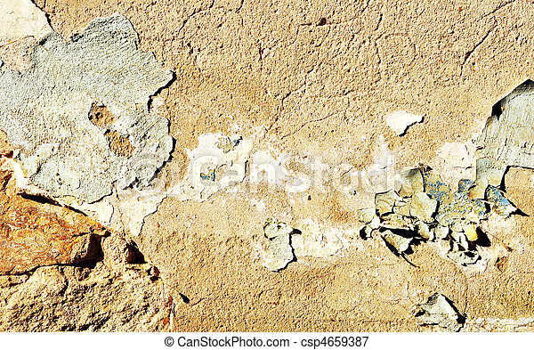 very old wall - csp4659387