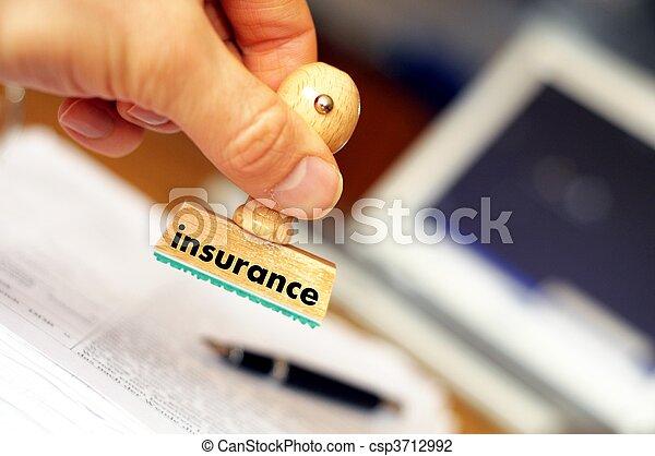 verzekering - csp3712992