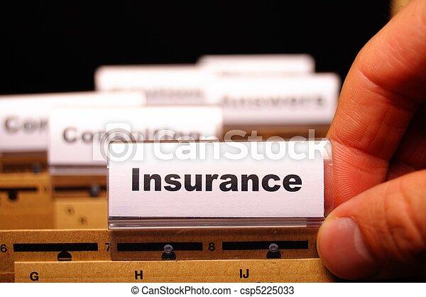 verzekering - csp5225033