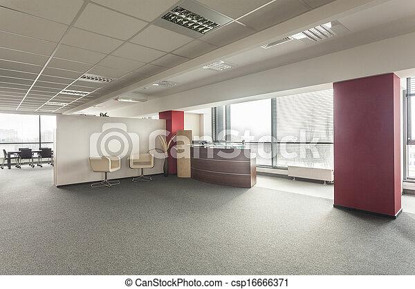 Oficina de recepción - csp16666371
