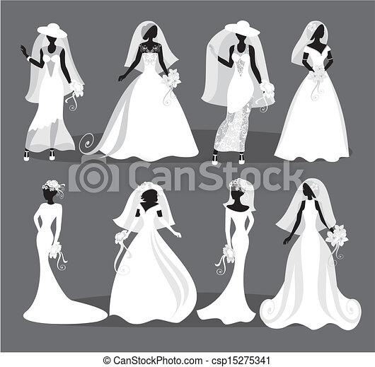 Vestido de boda - csp15275341
