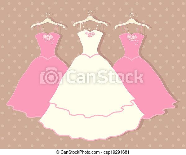 Vestido de boda - csp19291681