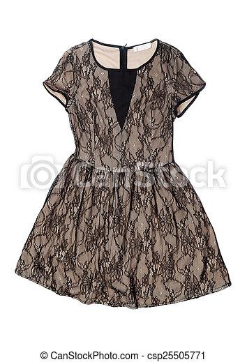 vestire, beige, laccio - csp25505771