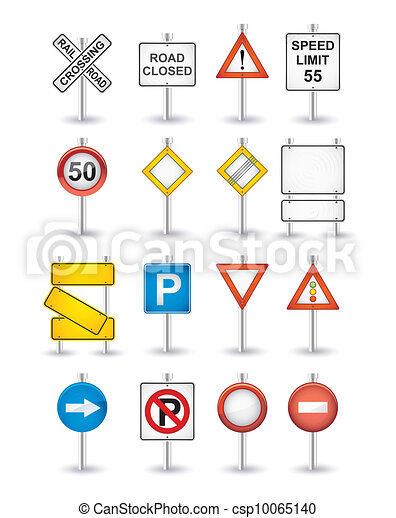 veszély, állhatatos, út cégtábla - csp10065140