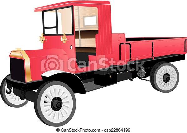 Veteran Truck - csp22864199