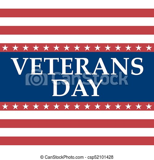 Veterans Day in the United States of America - csp52101428