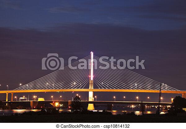 Veterans' Glass City Skyway - csp10814132