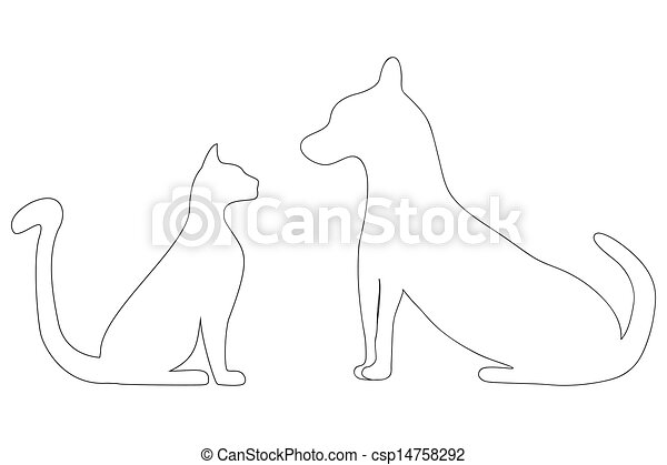 Veterinary symbol - csp14758292
