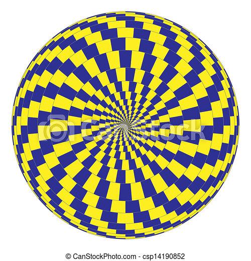 vetorial, óptico, arte - csp14190852