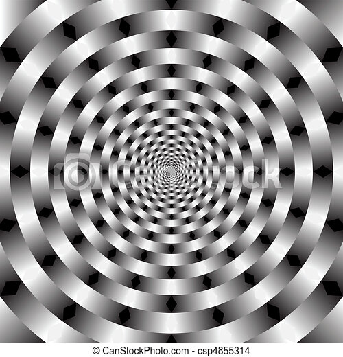 vetorial, óptico, arte - csp4855314