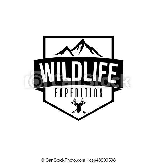 Vetorial Desenho Selva Expedição
