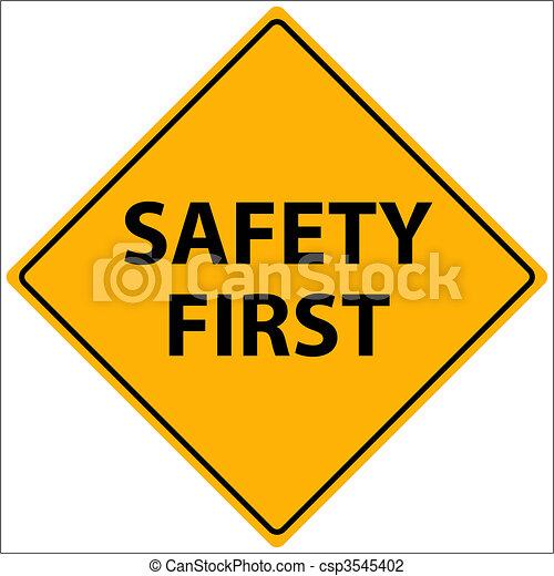 vetorial, segurança primeiro - csp3545402