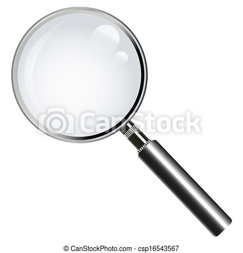 vetro, ingrandendo - csp16543567