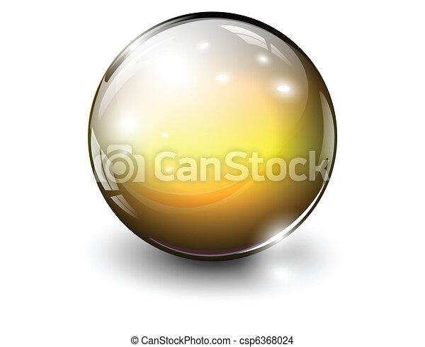 vetro, sfera - csp6368024