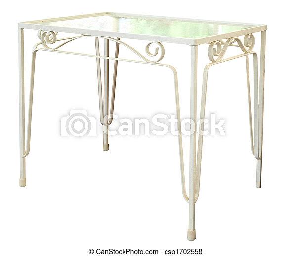 vetro, superato, tavola - csp1702558