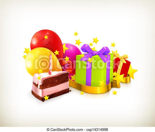 vettore, compleanno - csp14314998