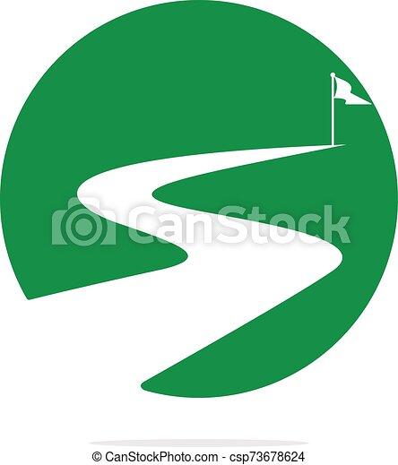 vettore, design., successo, modo, logotipo - csp73678624
