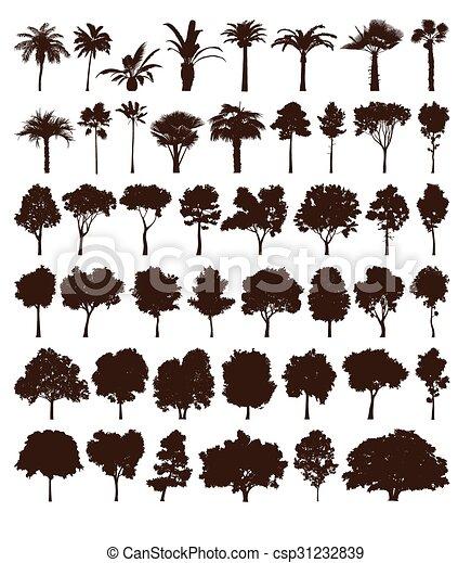 vettore, elementi, albero - csp31232839