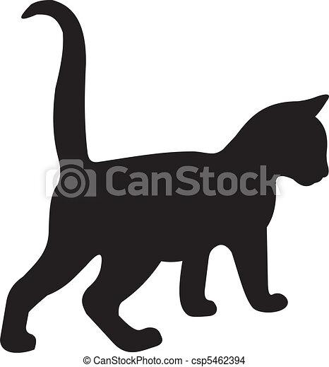 vettore, gatto - csp5462394