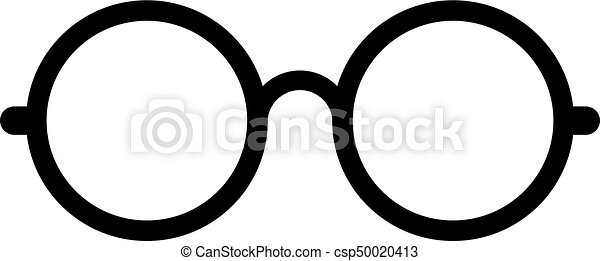 in vendita 75e6b 351cf vettore, occhio, retro, occhiali, icona