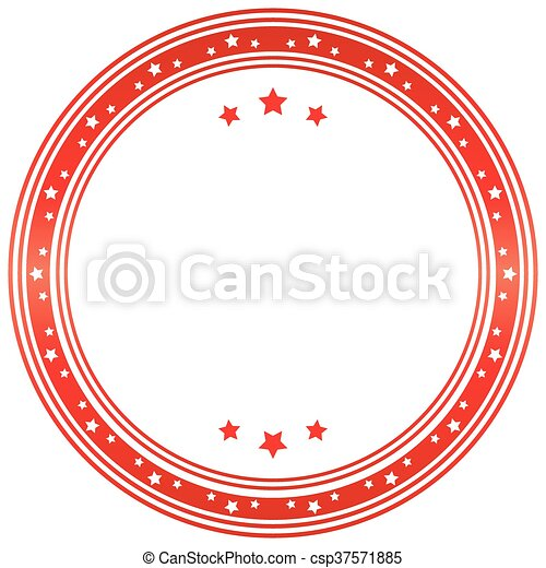vettore, sigillo, image., template. - csp37571885