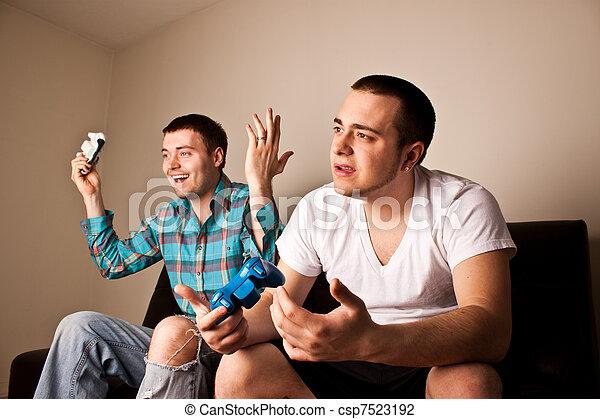 Vg Gana Dos Uno Tipos Juego Mientras Pierde Juego Video