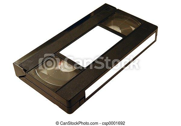 VHS tape - csp0001692