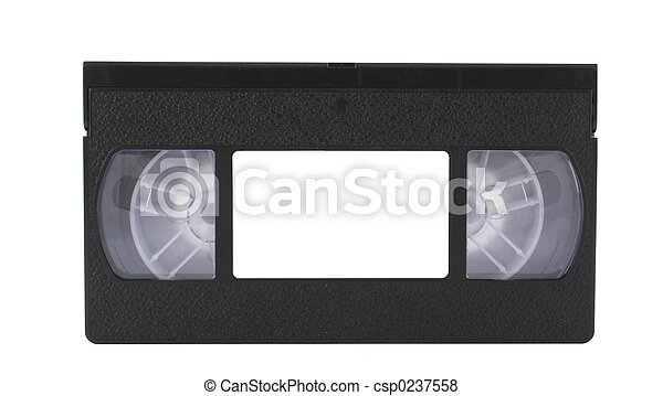 VHS tape with copysp - csp0237558