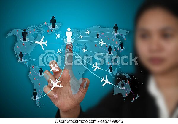 viagem, conceito, negócio, transporte - csp7799046