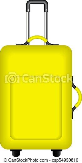 Viagem Desenho Amarela Mala Viagem Amarela Desenho Fundo