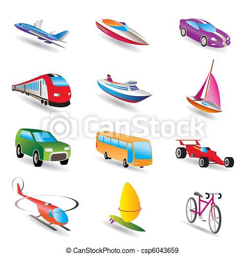 viagem, transporte - csp6043659
