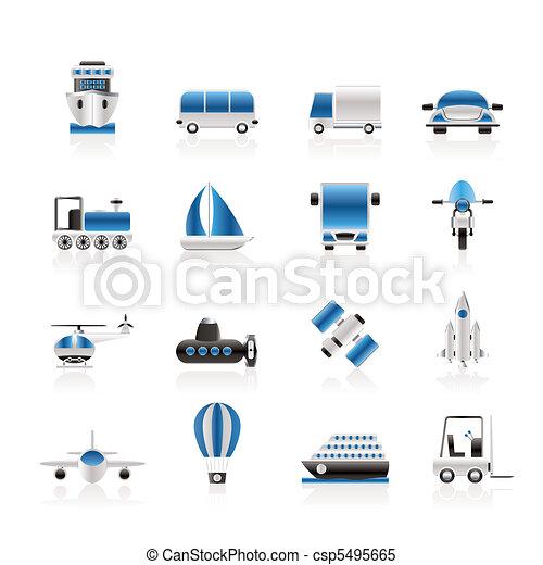 viagem, transporte, remessa - csp5495665