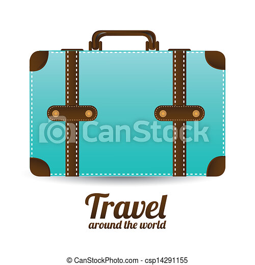 viaggiare, arround, mondo - csp14291155
